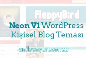 Neon V1 WordPress Teması