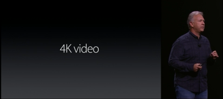 iphone 6s 4k video