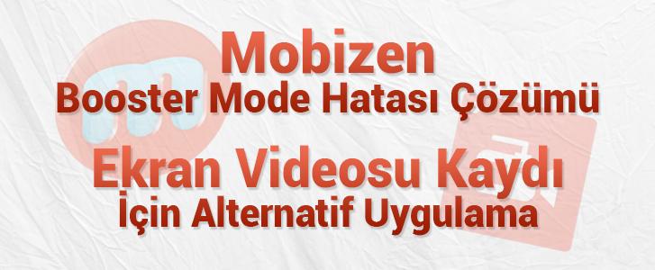 mobizen booster mode